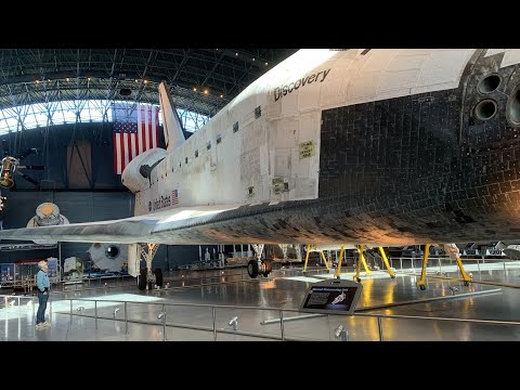 Adam Savage Examines the Space Shuttle Discovery!