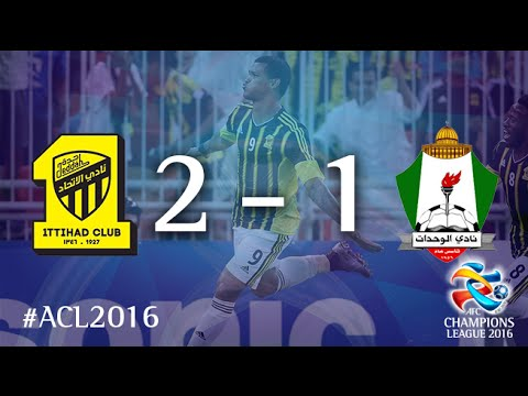 AL ITTIHAD vs AL WEHDAT: AFC Champions League 2016 (Playoffs)