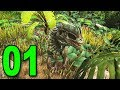 ARK: Survival Evolved - Part 1 - TAMING DINOSAURS!