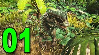 ARK: Survival Evolved - Part 1 - TAMING DINOSAURS!