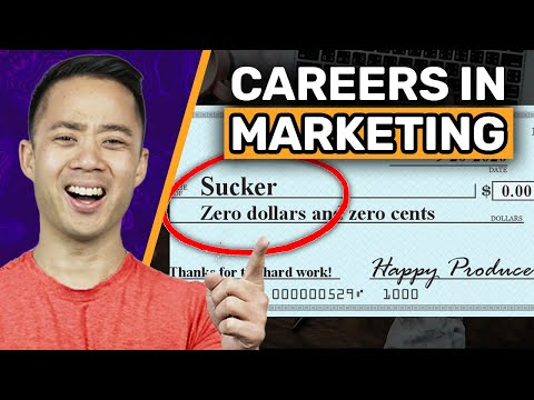 Careers in Marketing – How to Choose a Specialty and Score the Best Salary (2019)
