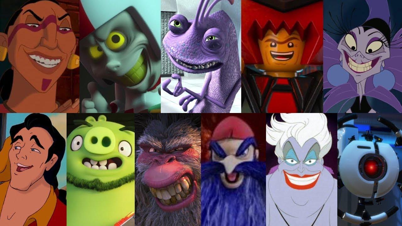 Defeats Of My Favorite Animated Movie Villains Part 4 By Gennarolino64