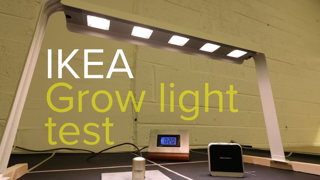 Ikea Grow Light Test You Ll Be Surprised Youtube