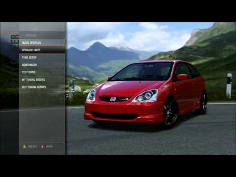 Forza 4 Tuning Guide Part 1: Tyres