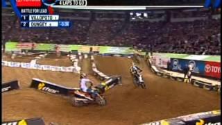 Repeat youtube video Ryan Dungey & Ryan Villopoto battle at Minneapolis Metrodome 4-13-13