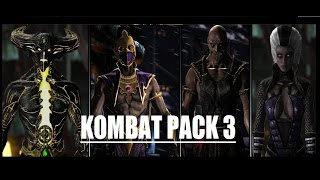 Mortal Kombat X - KOMBAT PACK 3 PC MOD TRAILER