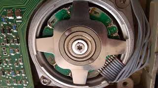 ST-251 MFM hard disk head crash