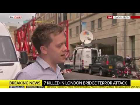 Owen Jones: Theresa May gets political immediately after London Bridge Terror Attacks