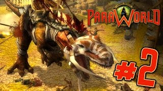 Dinosaur Army! - Paraworld Skirmish Match Gameplay || Ep2