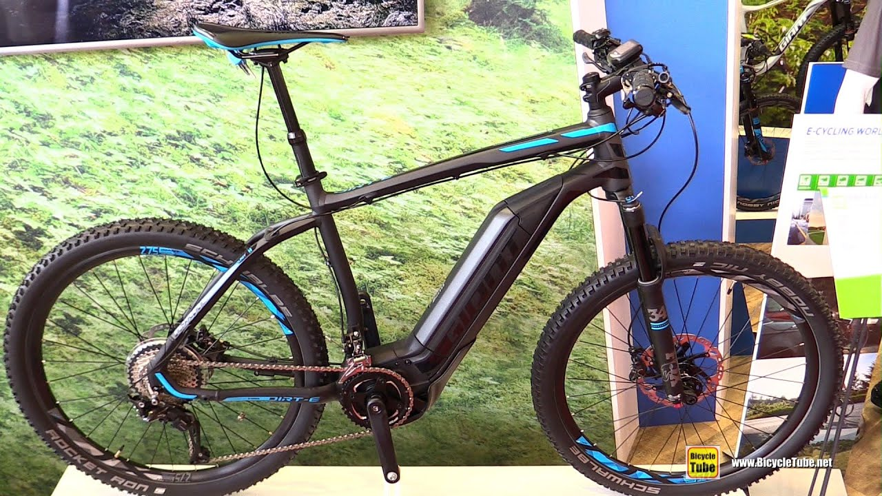 2017 Giant Dirt E 0 Electric Mountain Bike Walkaround 2016