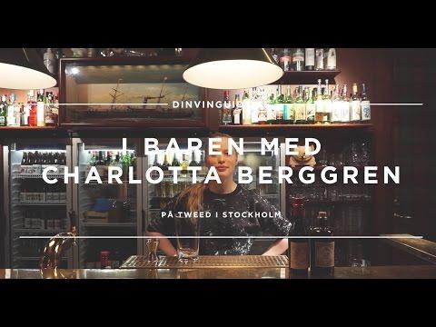 Charlotta Berggren – Monkey´s Wrench med gin, vermouth, granskottssirap och bitters