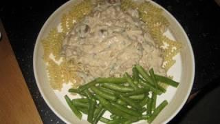 "Recipe: Vegan ""beef"" Seitan & Mushroom Stroganoff"