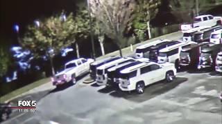 High-end trucks stolen from Coweta County dealership