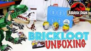 JUNE 2018 UNBOXING of BRICKLOOT - JURASSIC WORLD