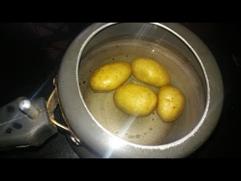 How to boil potatoes in pressure cooker | How to boil potatoes | Tips & Tricks-Mountain Girl channel