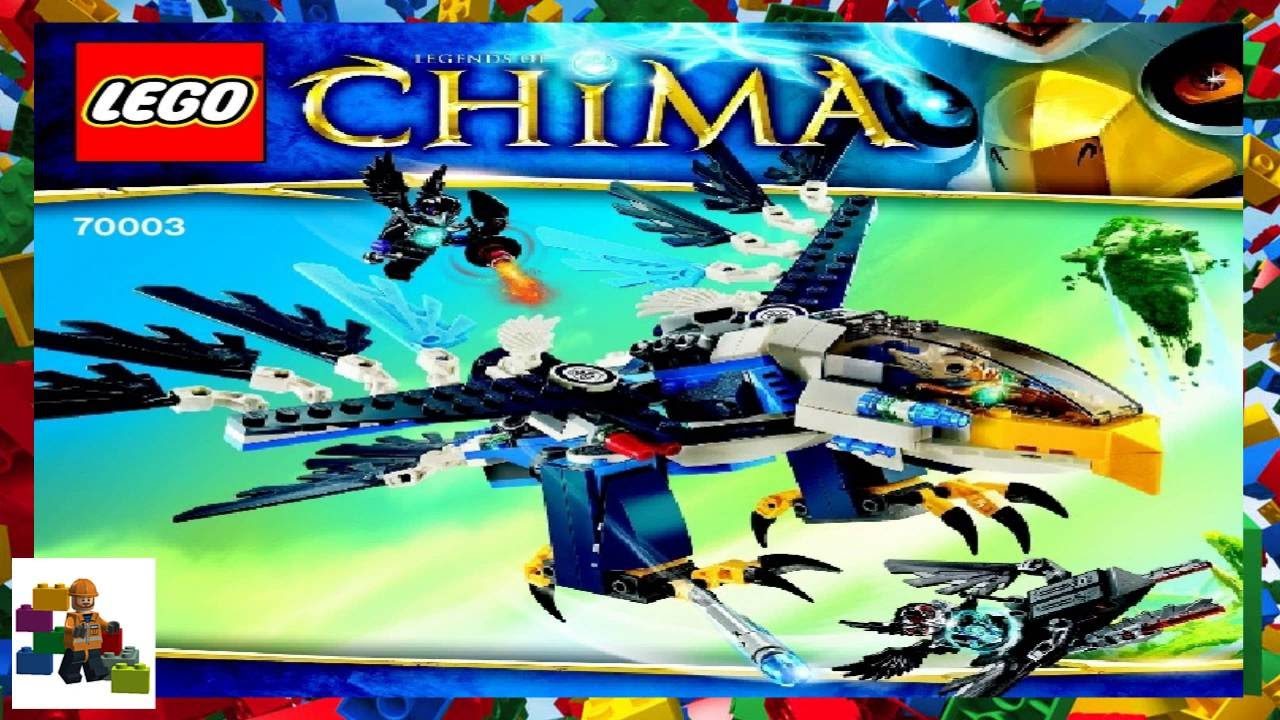 lego chima instructions 70003