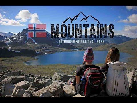 Climbing Kyrkja - Jotunheimen National Park Norway