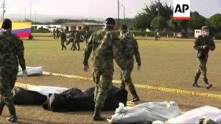 Catorce guerrilleros de las FARC murieron en un operativo de las fuerzas militares en el noreste de