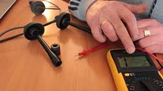 Как проверить высоковольтные свечные провода мультитестером