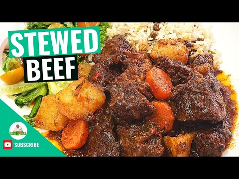 Stew Beef | Jamaican Stew Beef Recipe | Brown Stew Recipes | How to make Stew Beef | by @chefali1027