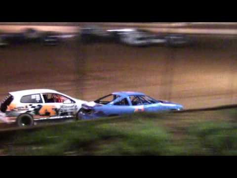 Harris Speedway FWD Heat and Main 5/13/17