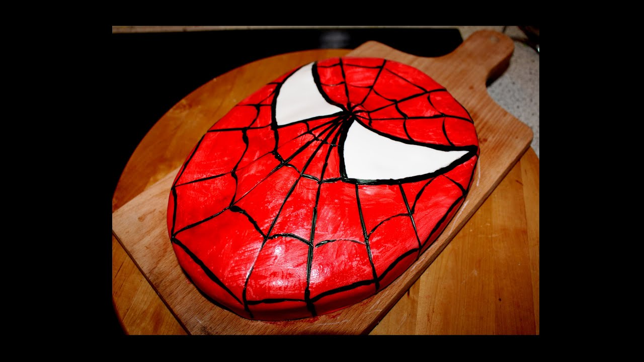 Spiderman kuchen moniifee youtube for Youtube kuchen