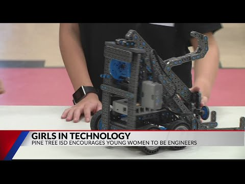 Girls in Technology at Pine Tree ISD