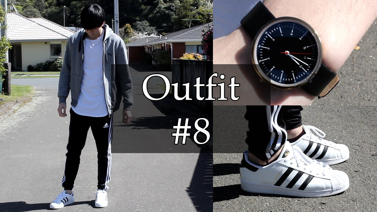 6831cb6b4d5 OOTD #8 | A Cozy Fit | Feat. Adidas Superstar, Tiro Pant and more ...