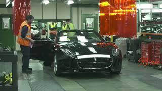 Pabrik Pembuatan Mobil Jaguar   Jaguar Car Factory