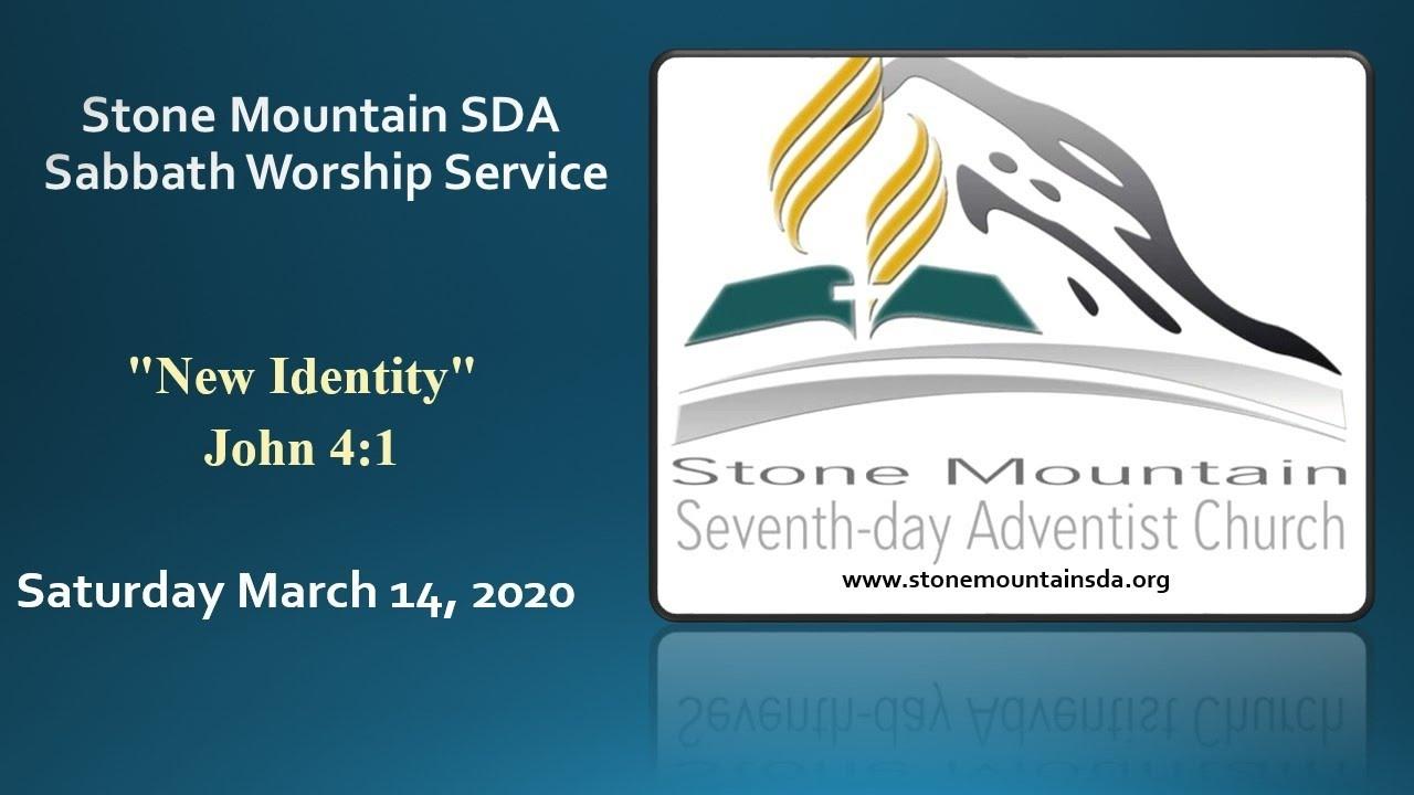 Mar 14, 2020 Sabbath Service