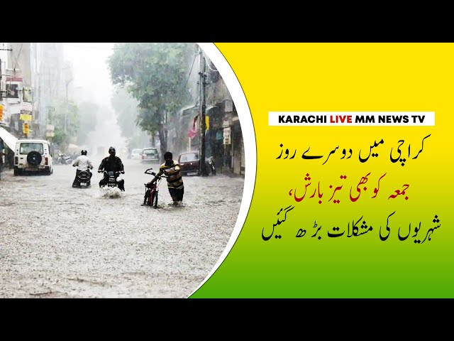 Misery Increased For Karachiites As Rain Strikes Again