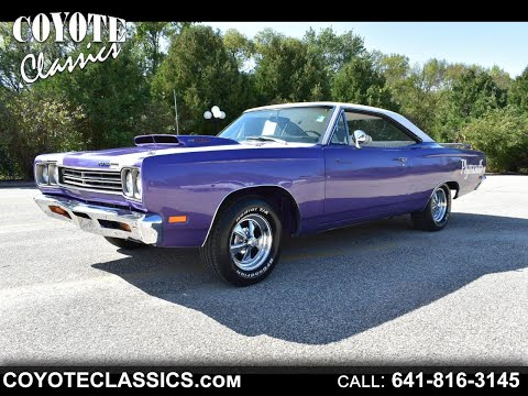1969 Roadrunner For Sale At Coyote Classics!!