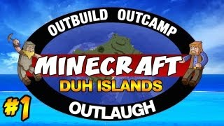 Minecraft: SurvivorCraft, Duh Islands   Ep.1, Dumb and Dumber