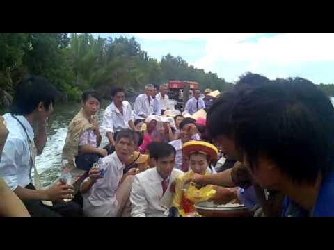 đám cưới miền sông nước