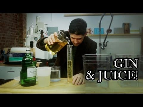 Science Lab Gin & Juice - Behind the Drink