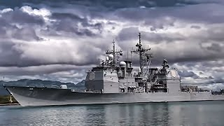 Warships Depart Pearl Harbor Naval Base