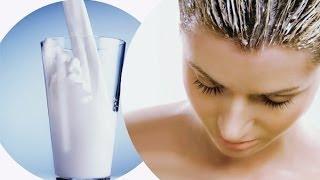 видео Кефирная маска для волос для осветления, роста или выпадения
