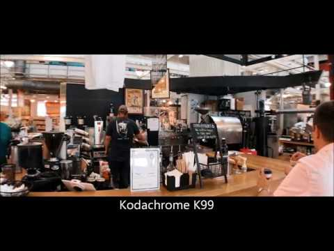 Free Kodachrome Color grading look up tables ( LUTS )