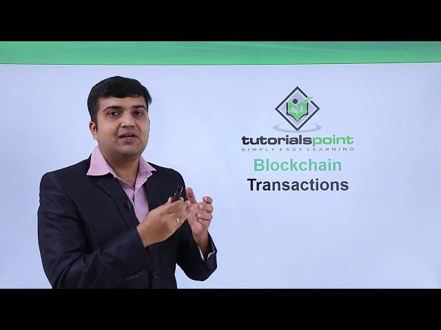 Blockchain - Transactions
