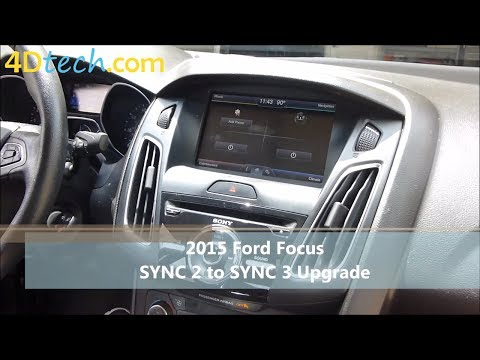 SYNC 2 to SYNC 3 Upgrade | 2015 Ford Focus