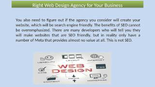 Right Web Design Agency for Your Business