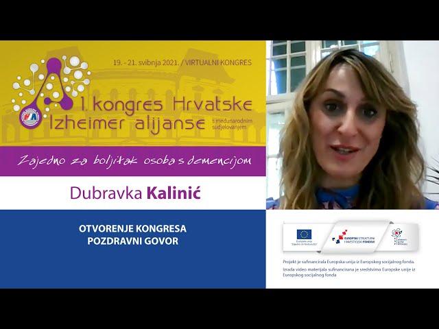 03 - Pozdravni govor Dubravka Kalinić