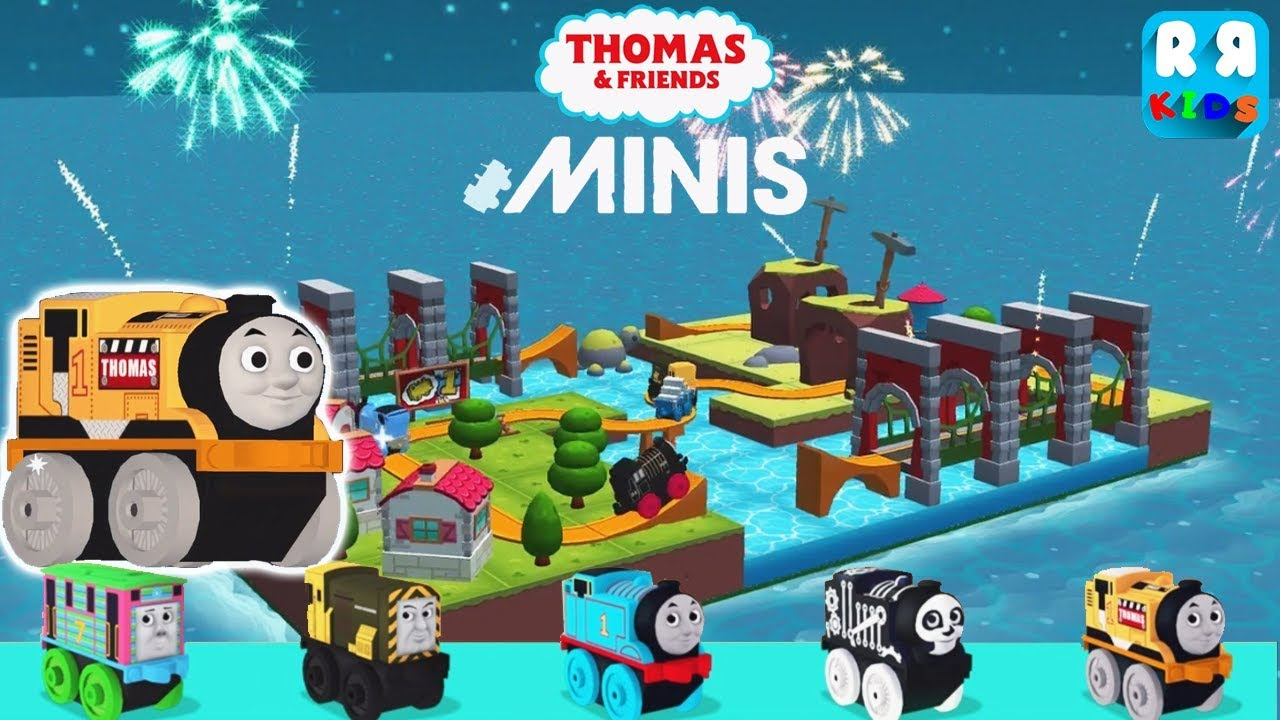 Thomas and Friends Minis - New Track The Rapid River and Mini Construction Thomas - iOS / Android