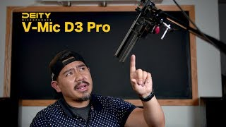 Deity V-Mic D3 Pro Unboxing | Review | Comparison vs. S-Mic 2 - The Best Vlogging Mic for YouTube?