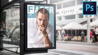 How to make a Fader Magazine Cover! (Photoshop CC)