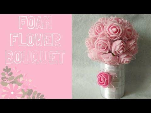 how-to-make-a-cheap-foam-bouquet