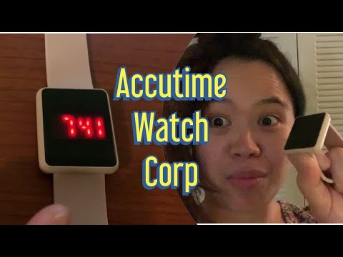 ACCUTIME WATCH CORP REVIEW   It's Romelie