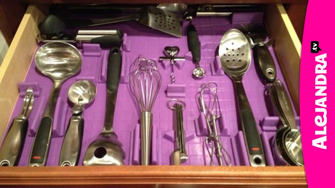 Kitchen Drawer Organizing Organizing Kitchen Utensils How To Organize Kitchen Drawers Youtube