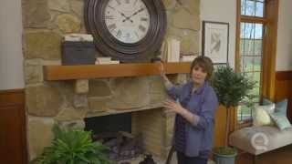 How To Create A Winter Mantel