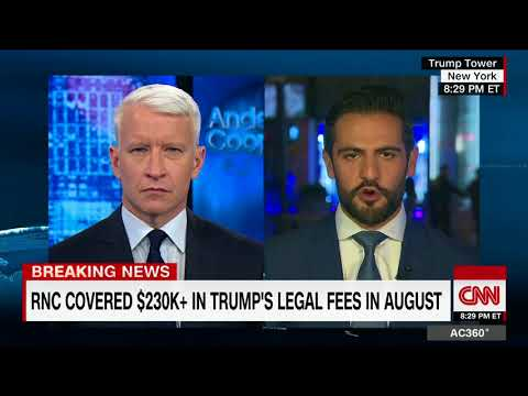 RNC paying for President Trump's legal fees